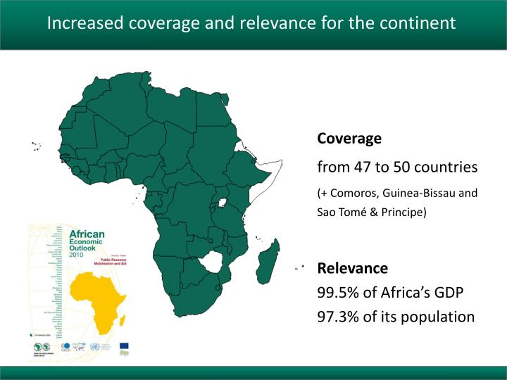 Increased coverage and relevance for the continent