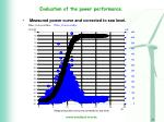 evaluation of the power performance7