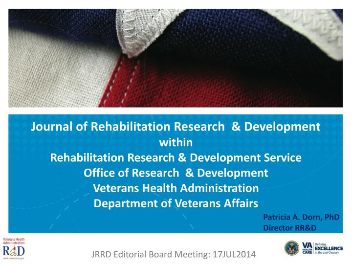 Jrrd editorial board meeting 17jul2014