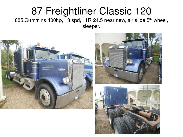 87 Freightliner Classic 120