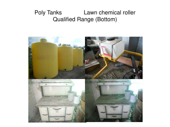 Poly Tanks              Lawn chemical roller