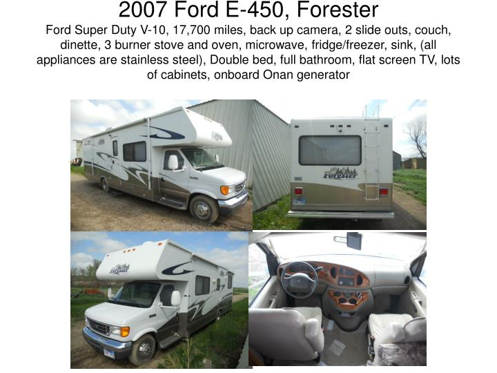 2007 Ford E-450, Forester