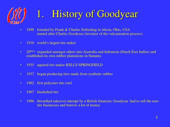 History of Goodyear