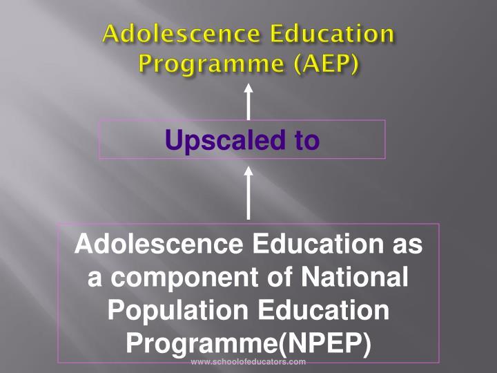 Adolescence Education Programme (AEP)