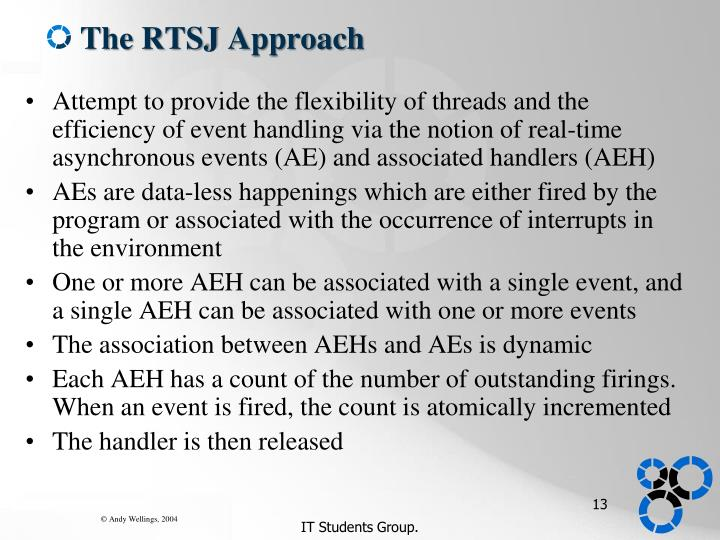 The RTSJ Approach