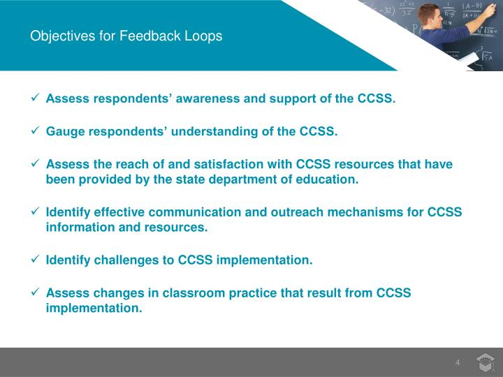 Objectives for Feedback Loops