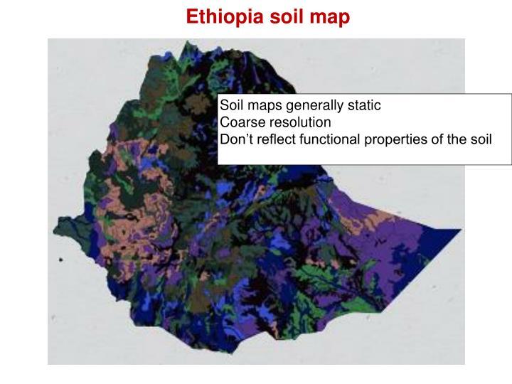 Ethiopia soil map