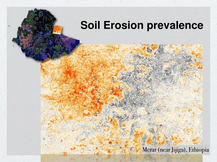 Soil Erosion prevalence