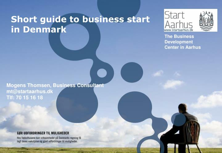 Short guide to business start in denmark