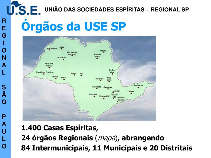Órgãos da USE SP