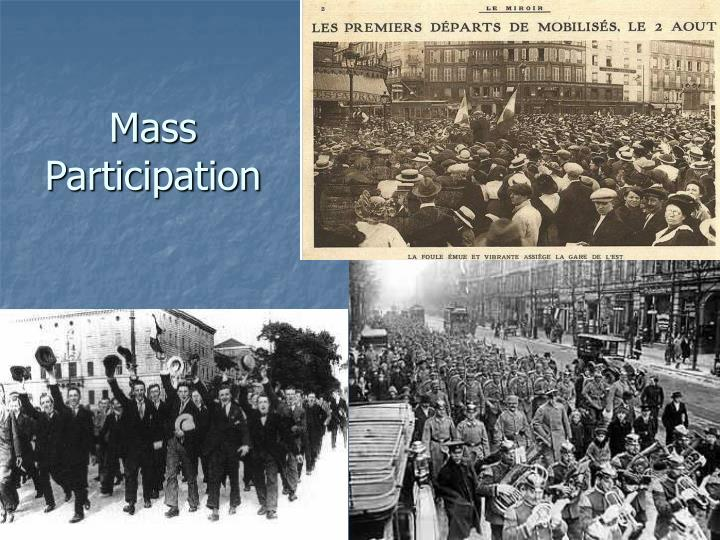 Mass Participation