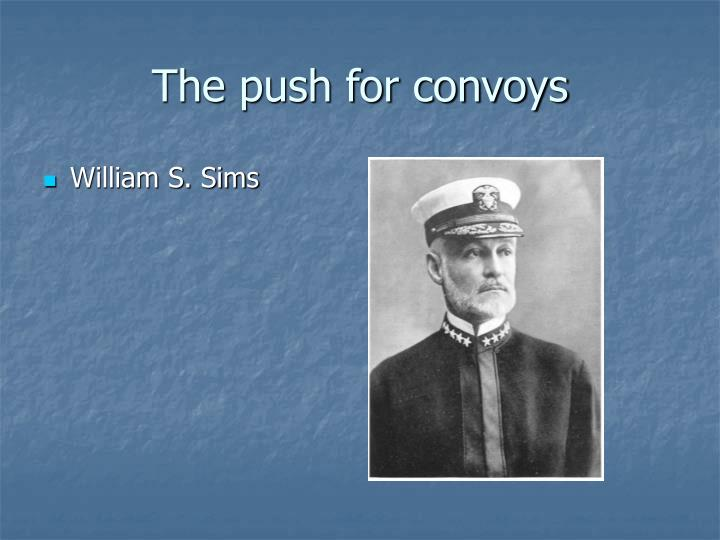 The push for convoys