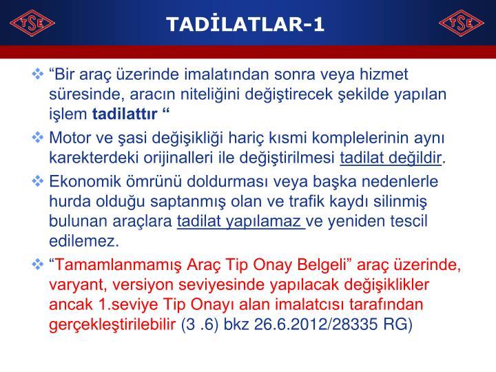 TADİLATLAR-1