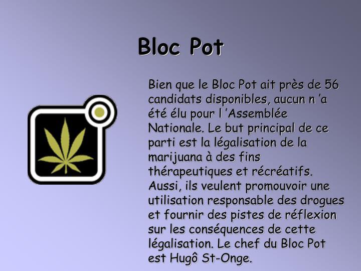Bloc Pot