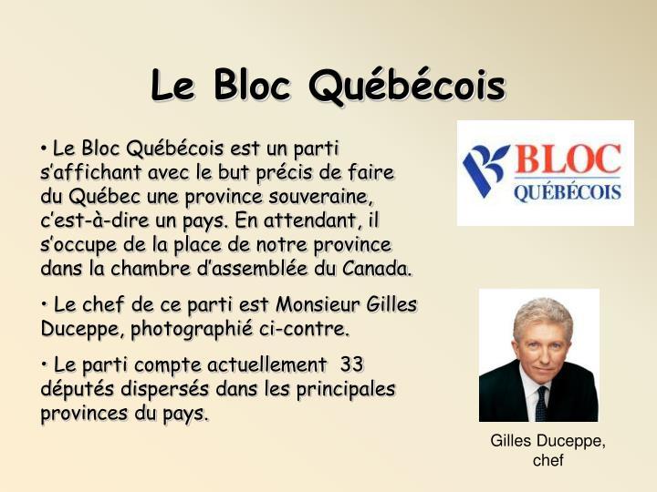 Le Bloc Québécois