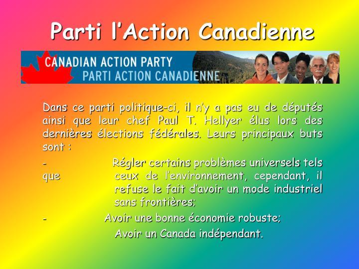 Parti l'Action Canadienne