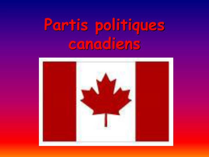 Partis politiques