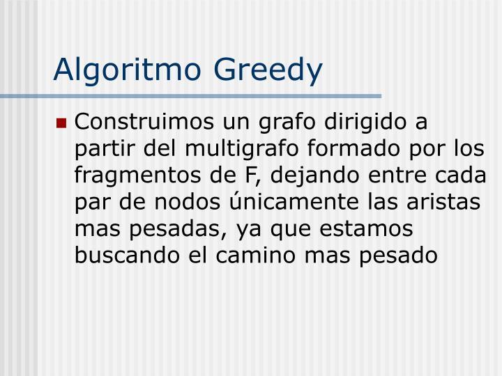 Algoritmo Greedy