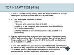 top heavy test 416