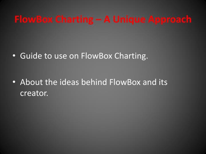 flowbox charting a unique approach