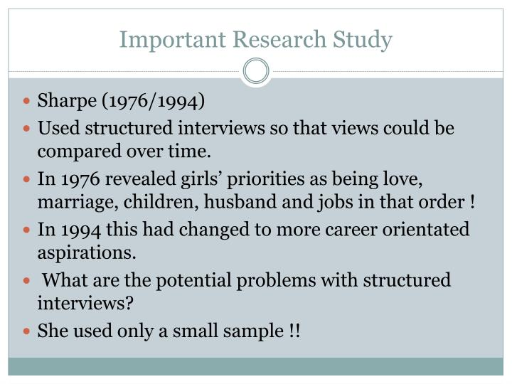 Important Research Study