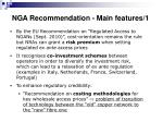 nga recommendation main features 1