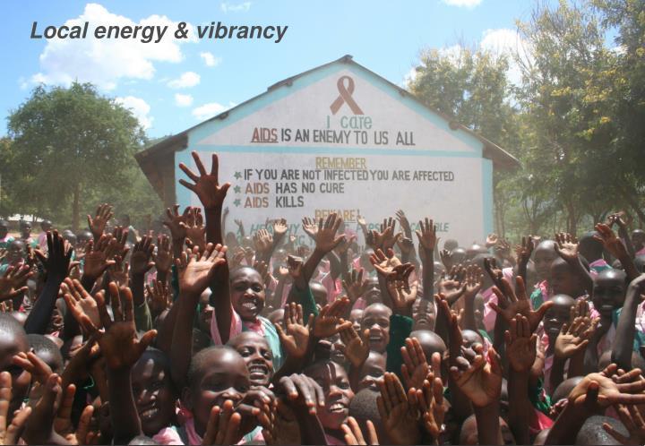 Local energy & vibrancy