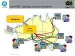 pmd crc geologic process simulations