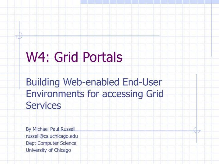 w4 grid portals