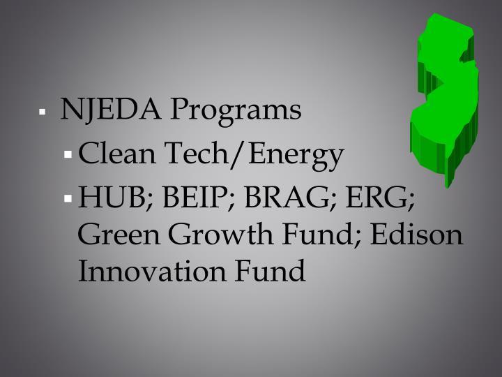NJEDA Programs