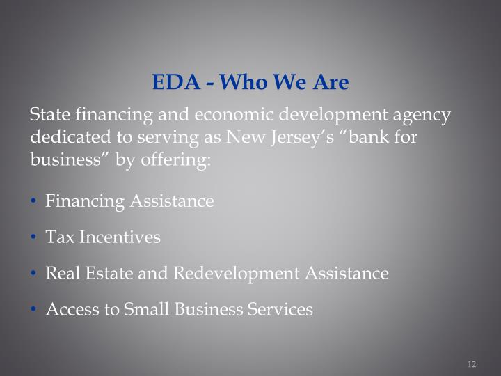 EDA - Who We Are