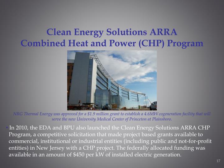 Clean Energy Solutions ARRA