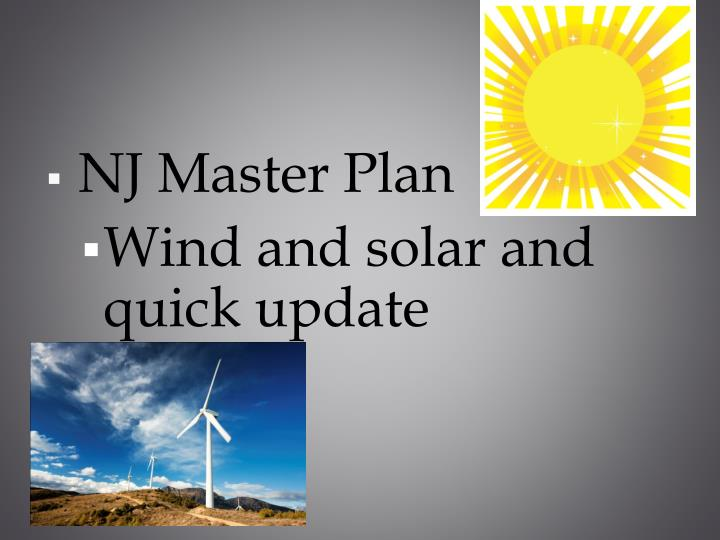 NJ Master Plan