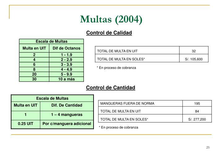 Multas (2004)