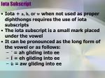 iota subscript