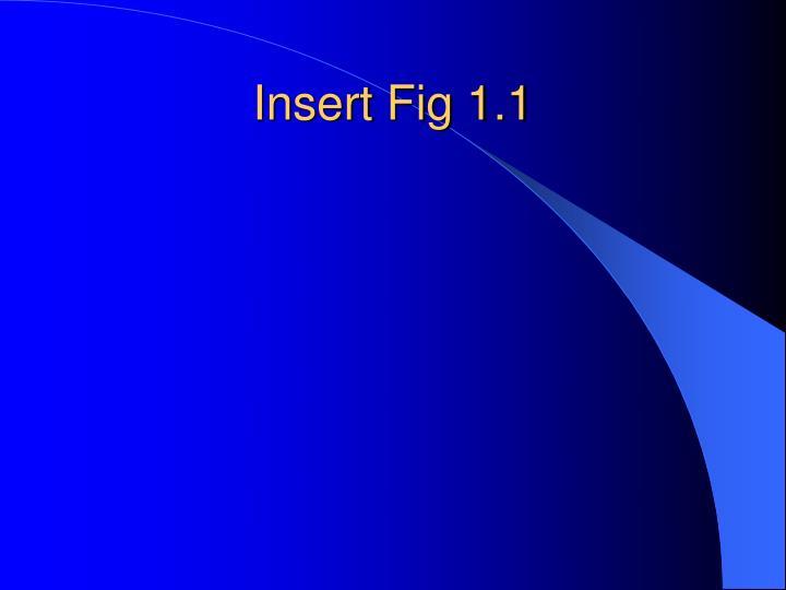 Insert Fig 1.1