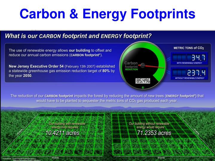 Carbon & Energy Footprints