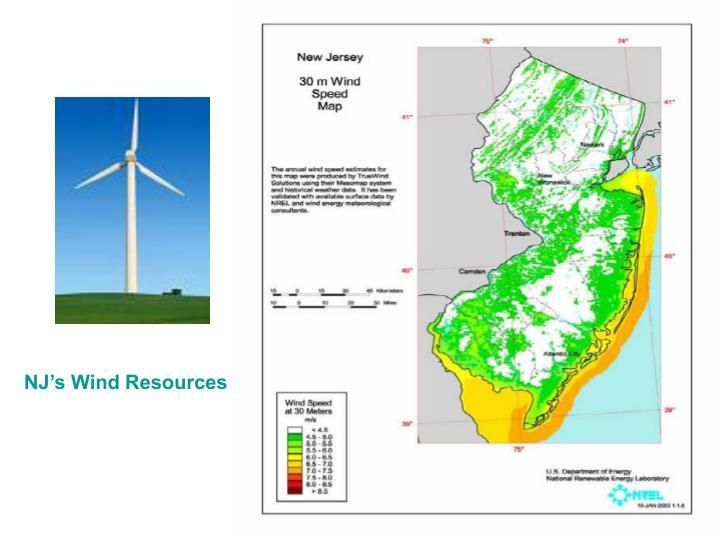 NJ's Wind Resources