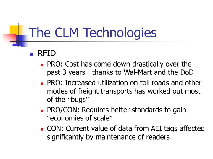 The CLM Technologies