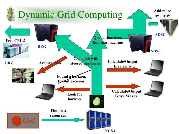 Dynamic Grid Computing