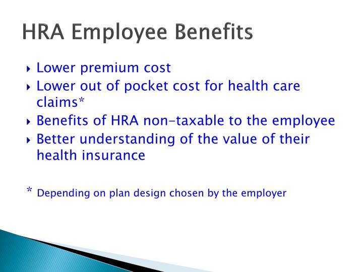 HRA Employee Benefits