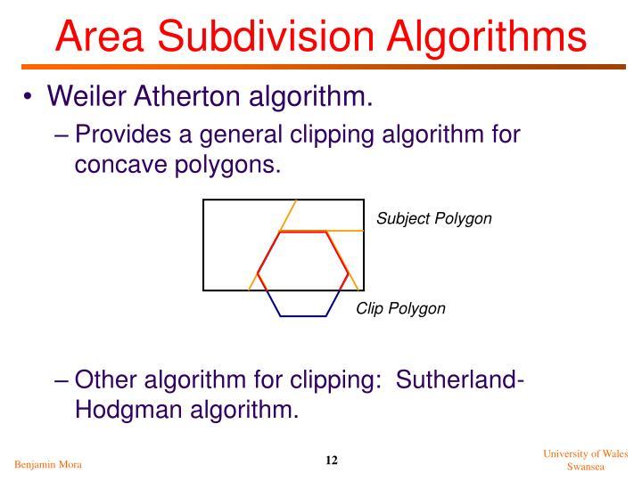 Subject Polygon