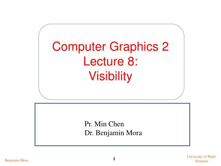 Computer Graphics 2