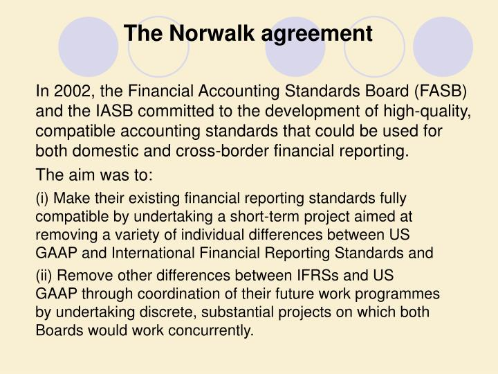 The Norwalk agreement