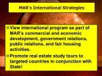 mar s international strategies
