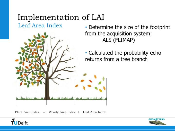 Implementation of LAI