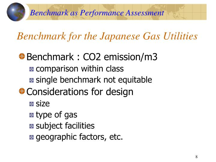 Benchmark as Performance Assessment