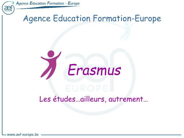 Agence Education Formation-Europe