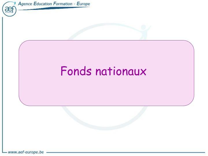 Fonds nationaux