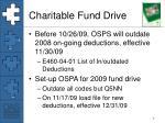 charitable fund drive
